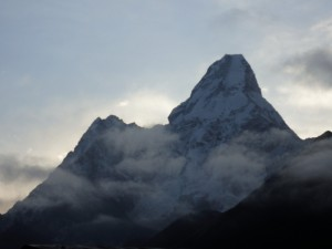 View of Ama Dablam from Tengbouche