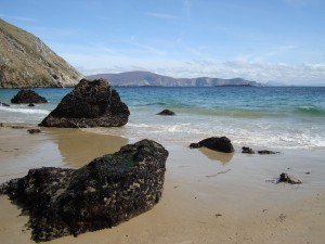 Keem beach on Achill Island