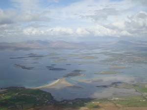 The top of Croagh Patrick
