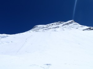 Steep slopes of Cho oyu