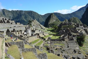 The wondrous city of Machu Picchu