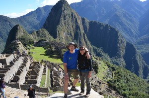 Just arrived in Machu Picchu