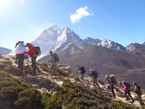 Is it difficult trekking into Everest Base Camp in Nepal