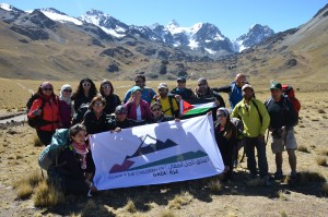 Charity group in South America