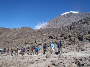 The long walk around Kilimanjaro