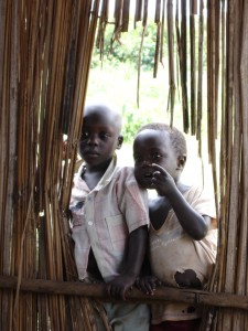 Children in Kitandwe September 2007
