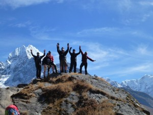 Acclimatizing around Namche Bazaar
