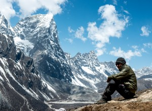 Acclimatizing high in the Everest region
