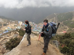 Acclimatization hike out of Namche Bazaar