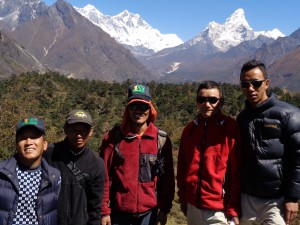 Some of our Sherpa team from Goli Village