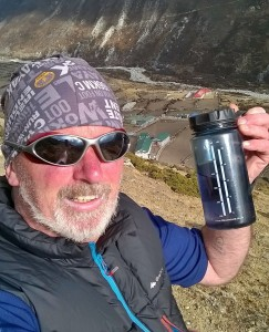 Stay hydrated on the Everest trail