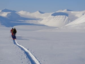 Pulling your pulk across Svalbard