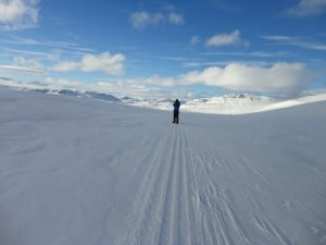 High on the Norwegian mountain plateau