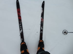 The Nordic ski's used in Noway