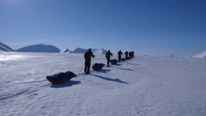 The long journey across Svalbard