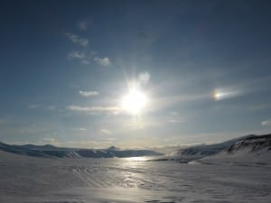 Svalbard, the icy land in the Artic