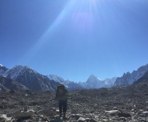 Moving closer to K2 base camp
