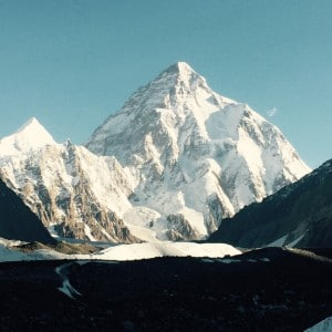 The amazing k2 mountain