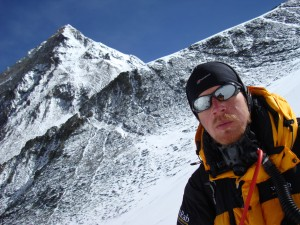 Ian Taylor high on Everest
