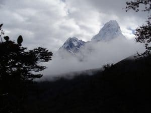 Ama Dablam from the Everest trail