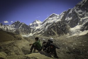 The journey into Everest base camp