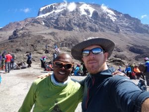 What is the easiest way to climb Mount Kilimanjaro