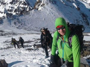 Our head guide Mohamed on Toubkal