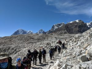 Trekking to Everest Base Camp for a great cause