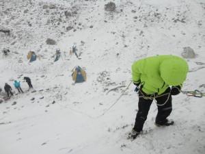 Training for Island peak climb