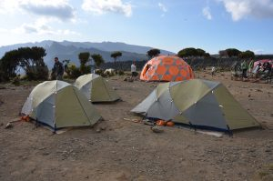 Shira camp on the Machame route