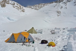 14,200 foot Camp 3 high on Denali