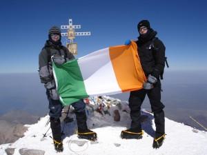 On the summit of Mt. Elbrus 2006