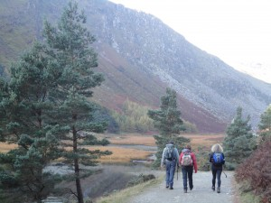 Hiking in Glendalough