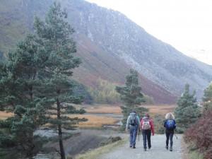 Hiking in Glendalough