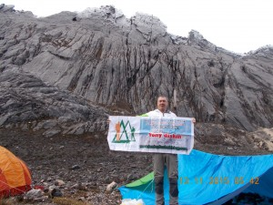 Carstensz base camp