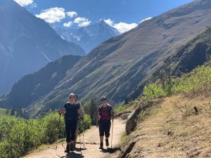 Day 2 on the Classic 5 Day INca Trail