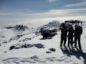 Article on Climbing Kilimanjaro: Best route Best team Best Acclimatization