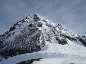 The South Summit on Mount Everest