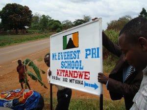 The Everest school in Kitandwe Uganda.