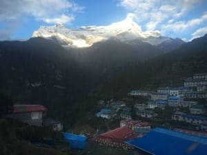 Views from Namche Bazaar