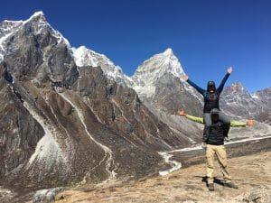 The Journey from Dingbouche to Lobuche