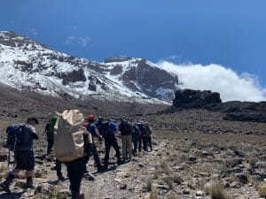 The Lava Tower on Kilimanjaro