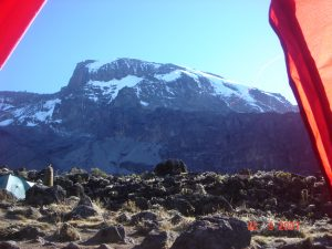 Kilimanjaro from Barranco Camp