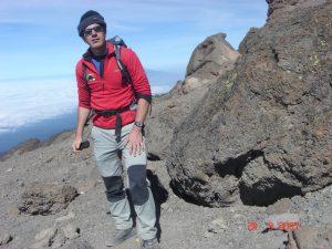 One reason less than 50% of people make the summit of Kilimanjaro