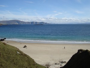The wondrous Keem beach on Achill Island