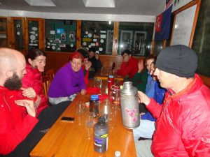 Tea Break on the trek to Everest