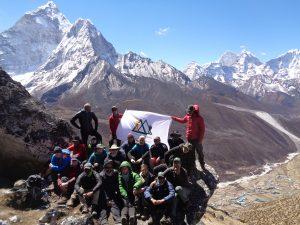 Pre monsoon in the Everest Region