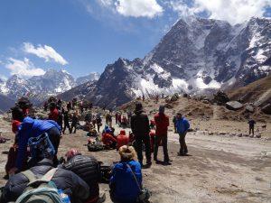 The Everest Memorial Below Base Camp