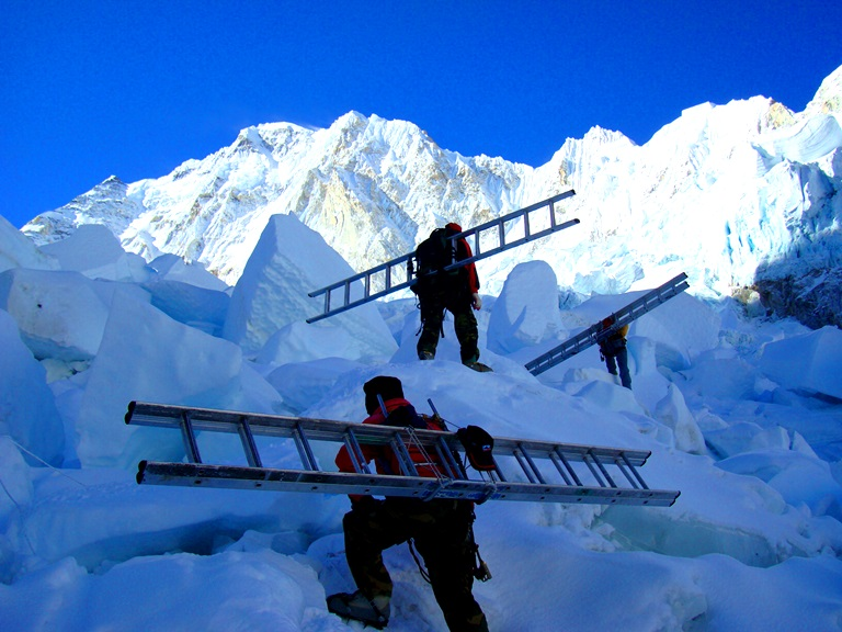 Everest%20Camp%202%2010 - How To Get In Shape To Climb Mount Everest