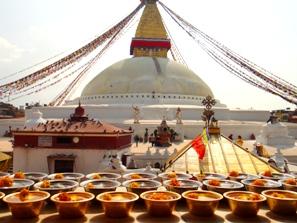 Boudha Stupa in Kathmandu